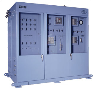 E/One Gas Station is a modular monitoring and control system that can be customized to fit the needs of a power plant