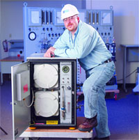 GCM-X - Generator Condition Monitor, Explosion-Proof Design for Hydrogen-Cooled Generators