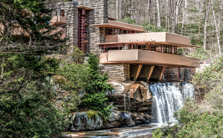Fallingwater, Mill Run, Pennsylvania ›